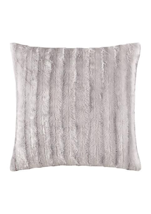 Duke Faux Fur Square Pillow