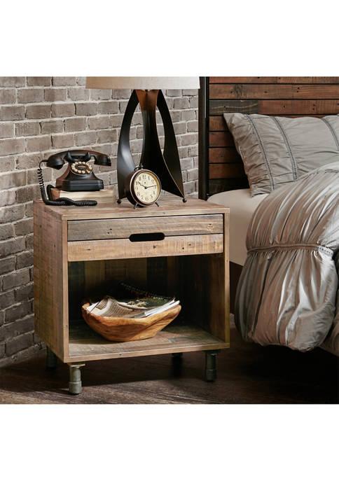 INK+IVY Renu Solid Wood Nightstand