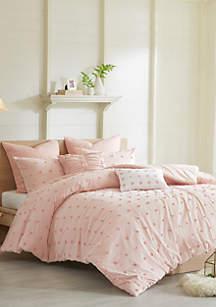 Brooklyn Jacquard King Comforter Set