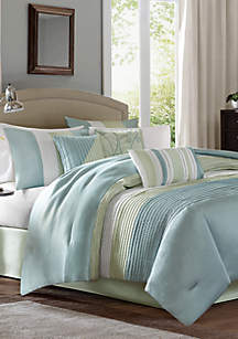Amherst\t7-Piece Comforter Set - Green