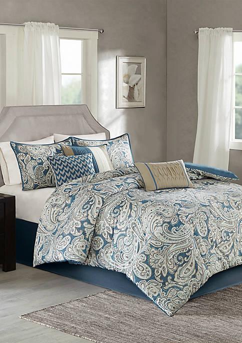 Madison Park Gabby Comforter Set-Blue