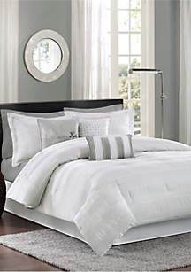 Madison Park Hampton Comforter Set-White