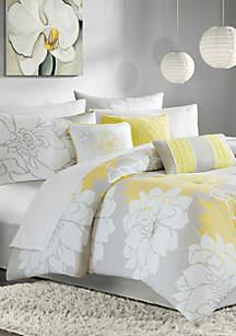 Lola\tComforter Set - Yellow