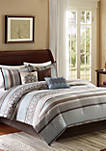 Princeton 7-Piece Blue Comforter Set