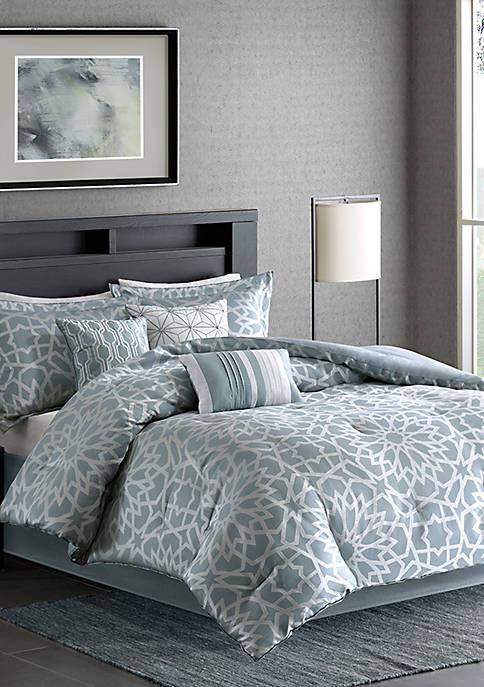 Madison Park Carlow 7-Piece Comforter Set