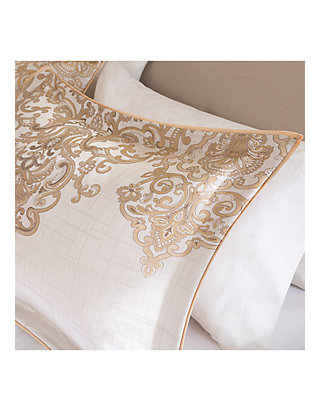 d95ee6d9777d ... Madison Park Vanessa 7-Piece Gold Comforter Set ...