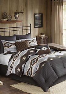 Bitter Creek Oversized 8-Piece Comforter Set