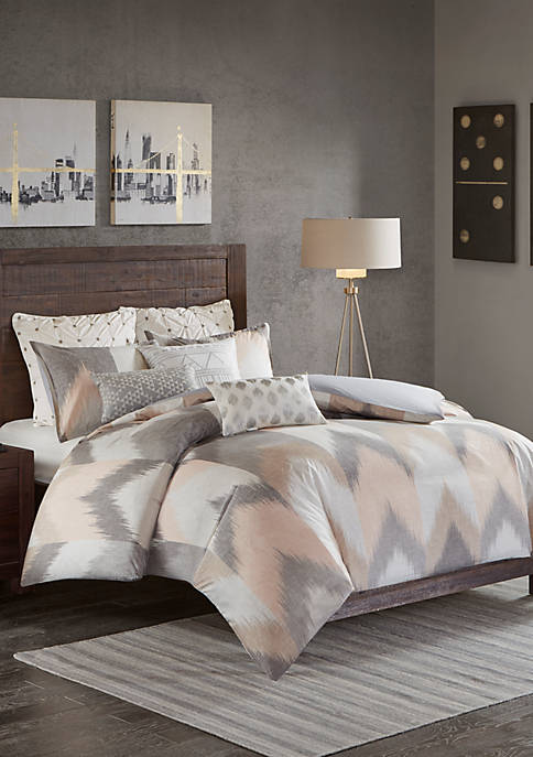 INK + IVY® Alpine 3-Piece Blush Comforter Mini