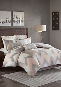 Alpine 3-Piece Blush Comforter Mini Set