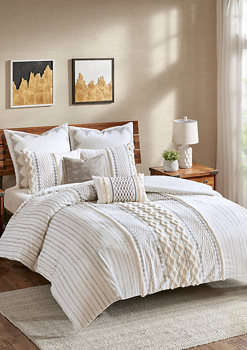 INK + IVY® Imani Cotton 3 Piece Comforter