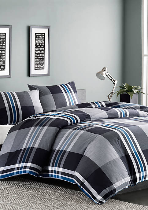 INK + IVY® Nathan 3-Piece Comforter Mini Set