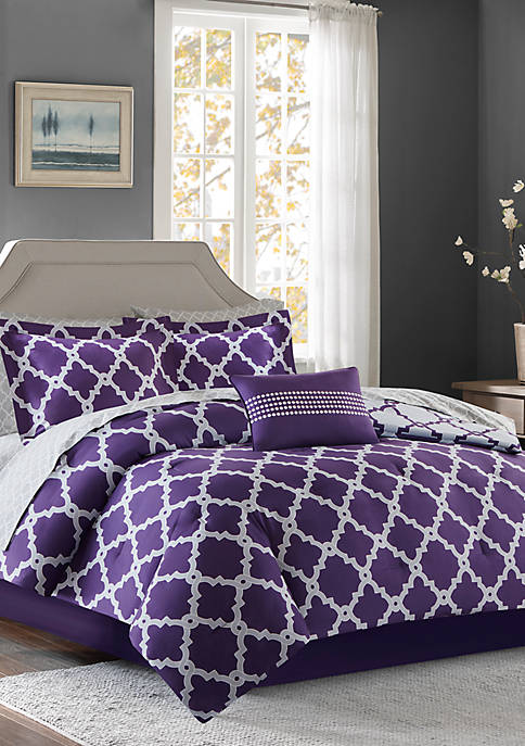 Madison Park Essentials Merritt Reversible Complete Comforter Set
