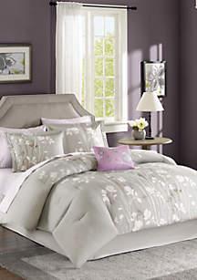 Madison Park Essentials Vaughn Complete Comforter Set - Grey
