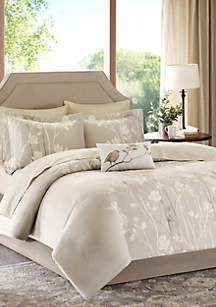 Madison Park Essentials Vaughn Complete Comforter Set - Taupe