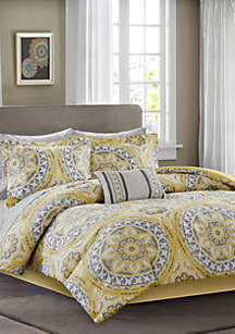 Madison Park Essentials Serenity Complete Comforter Set - Yellow