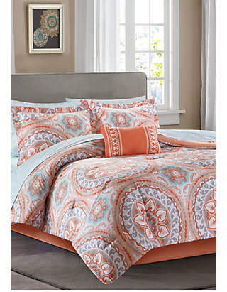 092b986ca Madison Park Essentials Serenity Complete Comforter Set - Coral