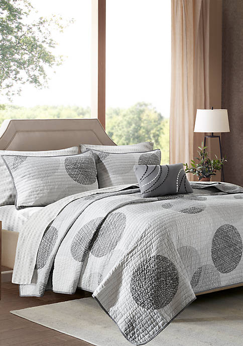 Madison Park Essentials Knowles Complete Coverlet Set