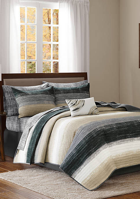 Madison Park Essentials Saben Complete Coverlet Set