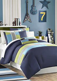 Pipeline Comforter Set - Navy