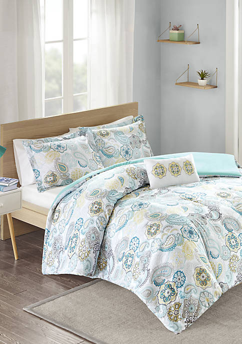 Tamil Blue Comforter Set