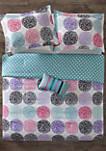 Carly Reversible Comforter Set Purple