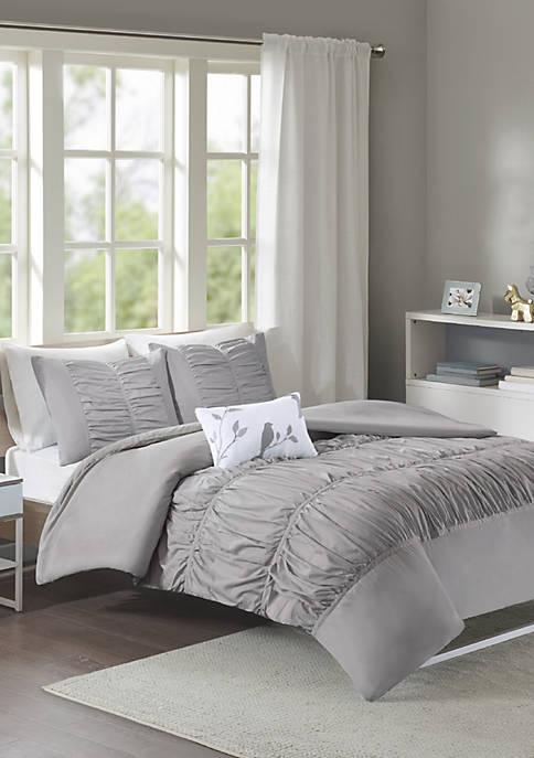 Mirimar Duvet Cover Set - Gray