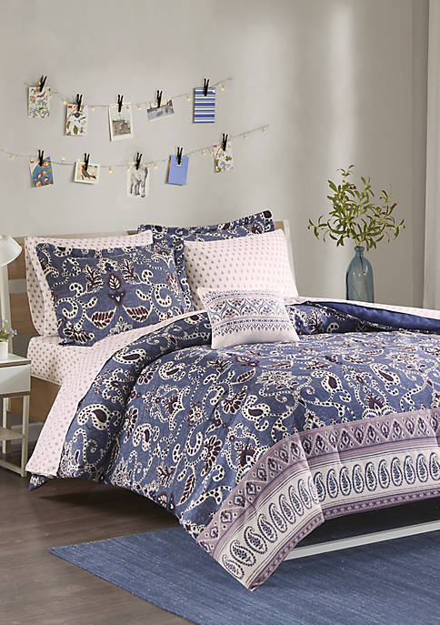 Intelligent Design Calico Complete Bed Set