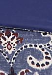 Calico Complete Bed Set - Purple