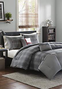 Daryl Comforter Set - Gray