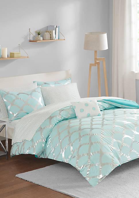 Intelligent Design Lorna Complete Aqua Bed Set