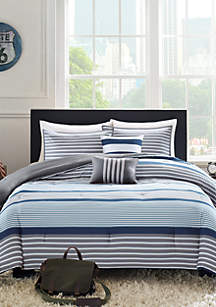 Paul Blue Comforter Set