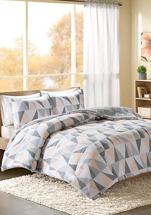 Intelligent Design Ellie Reversible Comforter Mini Set