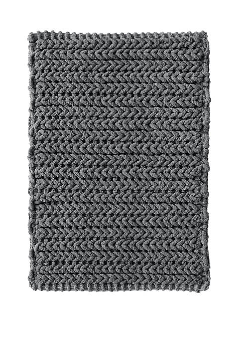 Lasso Yarn Dyed Cotton Bath Rug