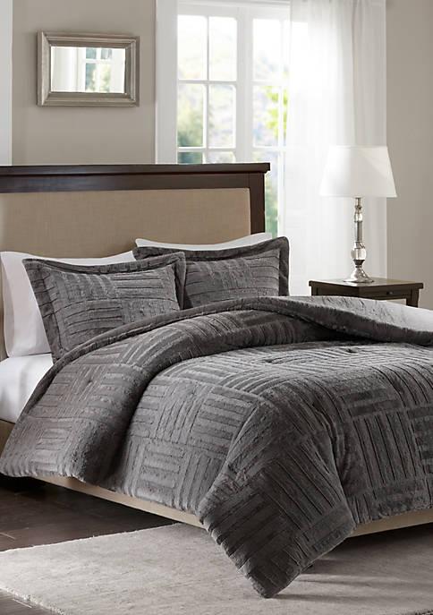 Madison Park Arctic Fur Down Alternative Comforter Mini