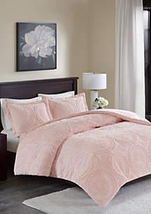 Madison Park Arya Medallion Ultra Plush Comforter Mini Set