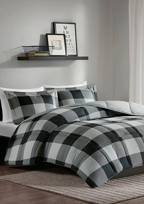 Madison Park Barrett Scotchgard Down Alternative Comforter Mini