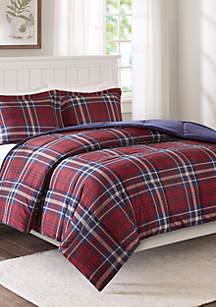 Madison Park Bernard Scotchgard Down Alternative Comforter Mini Set