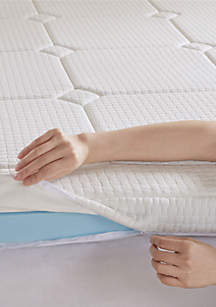 Flexapedic by Sleep Philosophy Deluxe 3 in Quilted Memory Foam Mattress Topper