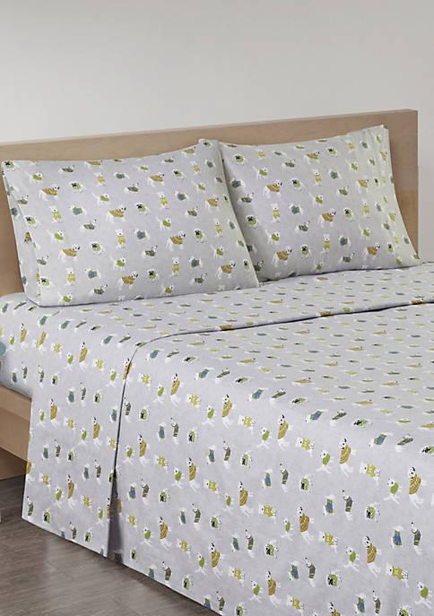 Cozy Flannel Sheet Set