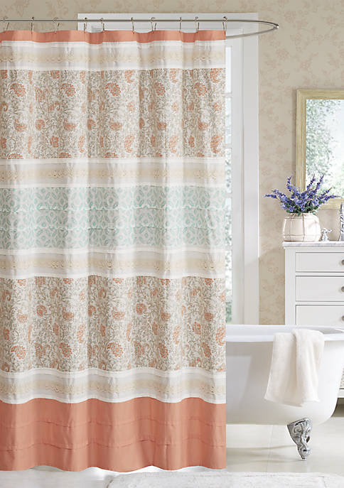 Madison Park Dawn Cotton Shower Curtain