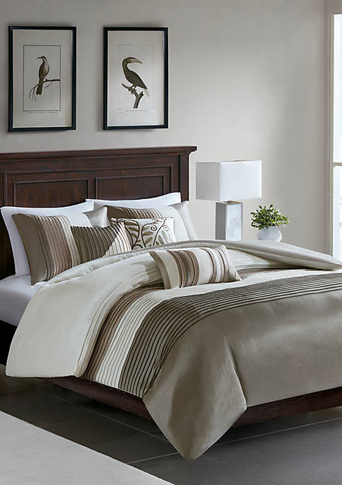 Madison Park Amherst 6 Piece Duvet Cover Set