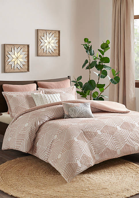 INK + IVY® Ellipse Cotton Jacquard Comforter Set