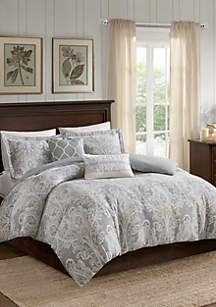 Harbor House Hallie 5 Piece Cotton Duvet Cover Set