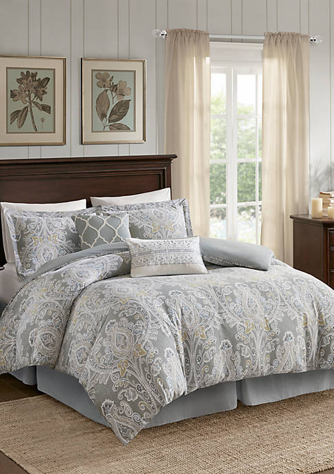 Harbor House Hallie 6 Piece Cotton Comforter Set