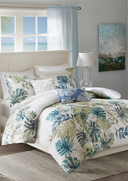 Harbor House Lorelai Cotton Printed 5 Piece Duvet