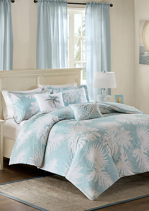 Harbor House Palm Grove Cotton Printed 5 Piece