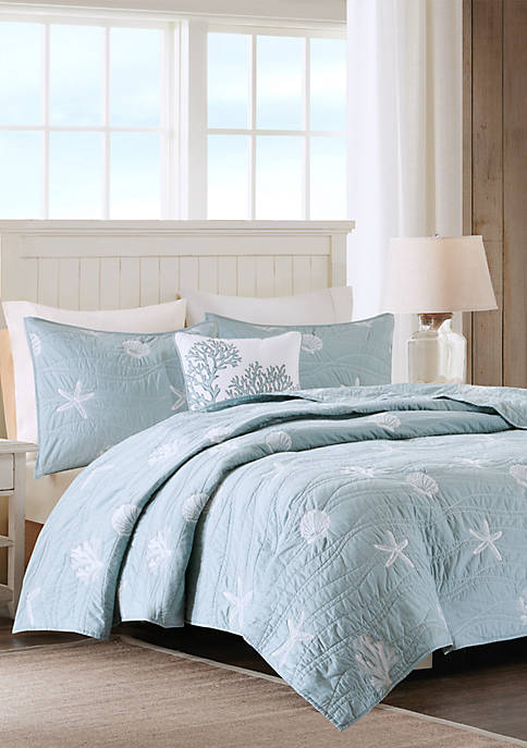Harbor House Seaside 4 Piece Coverlet Set