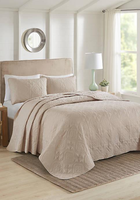 510 Design Oakley 3 Piece Reversible Bedspread Set
