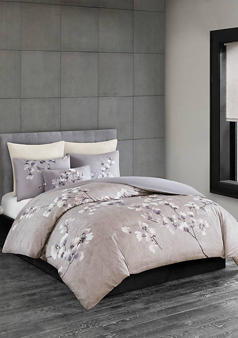 N Natori 3 Piece Sakura Blossom Cotton Sateen
