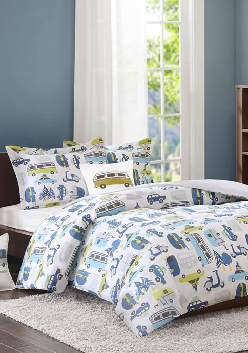 INK+IVY Kids Roadtrip Comforter Set
